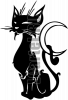Виниловая наклейка - КОТ #140