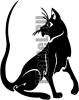 Виниловая наклейка - КОТ #157