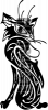 Виниловая наклейка - КОТ #160