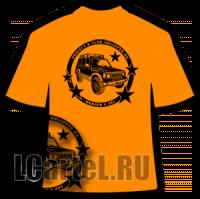 Клубная футболка ГАЛЛОПЕР.РУ к пятилетию КЛУБА (рисунок на спине)