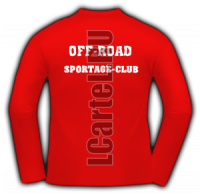 Футболка с длинными рукавами - SPORTAGE CLUB #5 спина