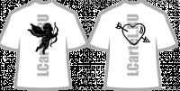 Парные футболки. Цена за пару футболок для влюбленных.
