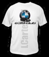 """Футболка - """"e39 club"""""""