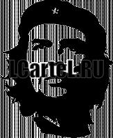 Че Гевара. Наклейка Эрнесто Че Гевары из винила на авто.