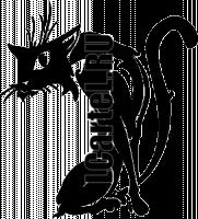 Виниловая наклейка - КОТ #167