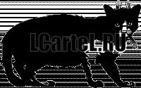 Виниловая наклейка - КОТ #110