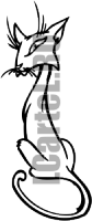Виниловая наклейка - КОТ #118