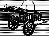 """Виниловая наклейка """"Пулемет"""""""