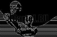 """Виниловая наклейка """"Рабочий со Знаменем Ленина"""""""