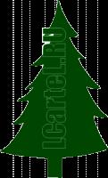 Цветные трафареты новогодние. Рисунок елки для трафарета.