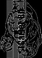 Трафарет Льва #295