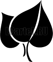Трафарет - Листья