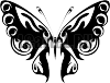 Виниловая наклейка - Бабочка #203