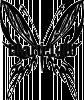 Виниловая наклейка - Бабочка #190
