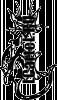 Виниловая наклейка - КОТ #148