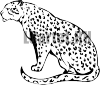 Наклейка на авто - Леопард #279