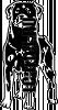 Наклейка Собака # s646