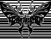Трафарет Бабочка #411
