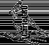 Трафарет Попугая