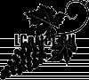 Трафарет Виноград с листьями